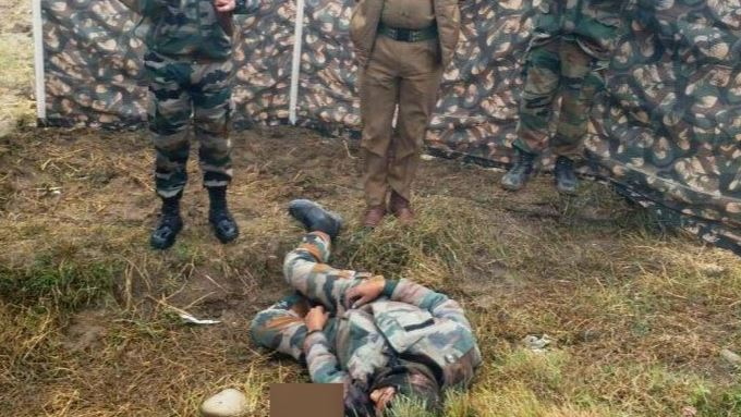 indian army man died in occupied kashmir