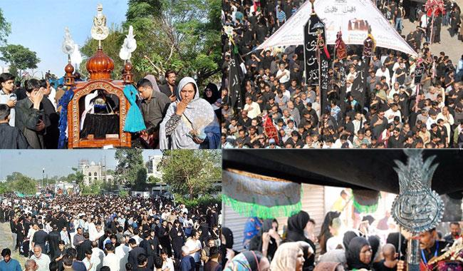 Ashura Day was celebrated with devotion and respect all over the country