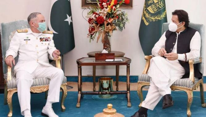 neval chief last meeting with imran khan