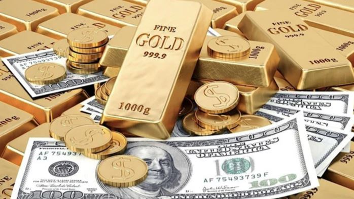 dollar and gold price
