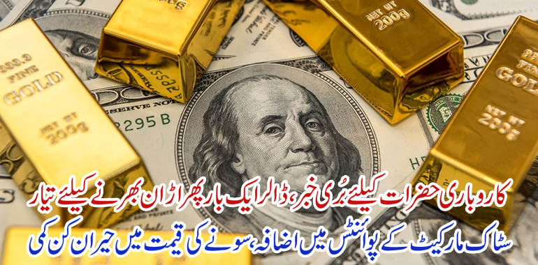 gold and pakistan stock market