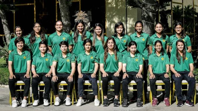 cricket team of pak women