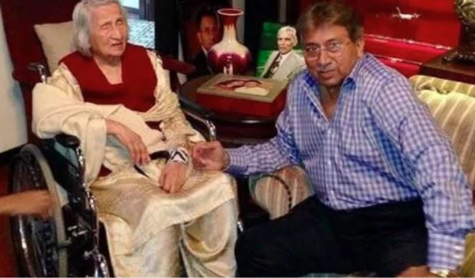 pervaz musharaf and his walida