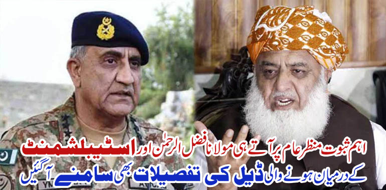 fazal ur rehman and army chief