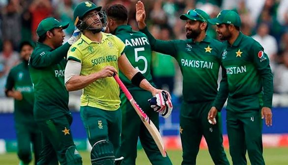 cricket teams of pak,south africa