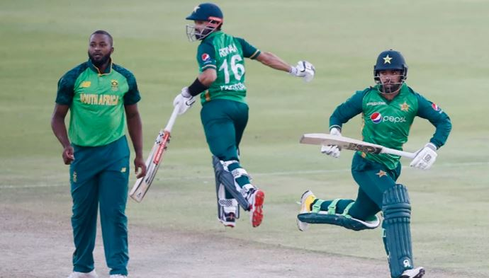 pakistan win first one day against south afriqa