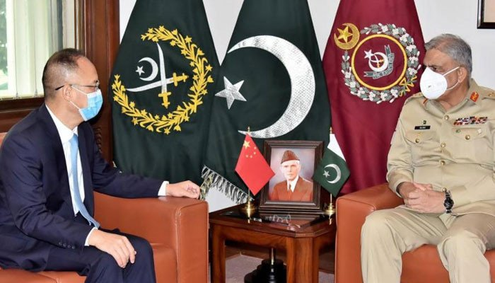 chanees ambassidor meet with army chief