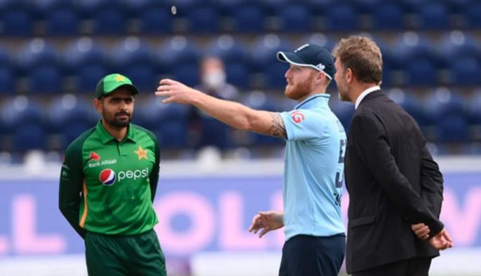 pakistan vs england first one day toss