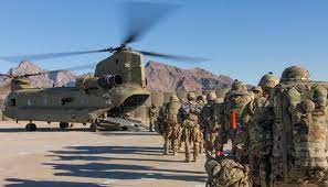 american army go back from kabil