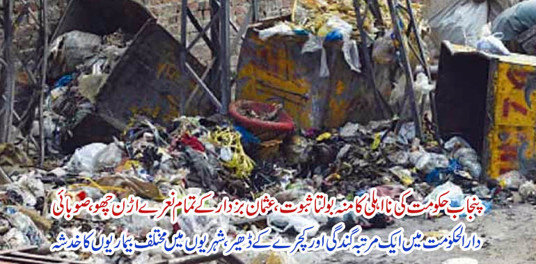 lahore once again dirty